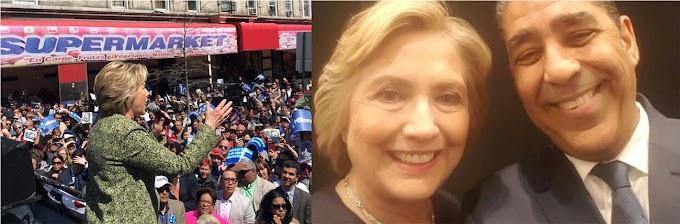 Dominicanos apoyaron a Hillary con el 58.84% de los votos en  el Alto Manhattan y a Trump 37.44%