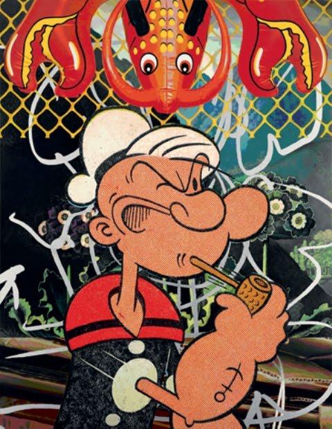 Wallpapaer Graffiti Online Graffiti Cartoon Characters Popeye