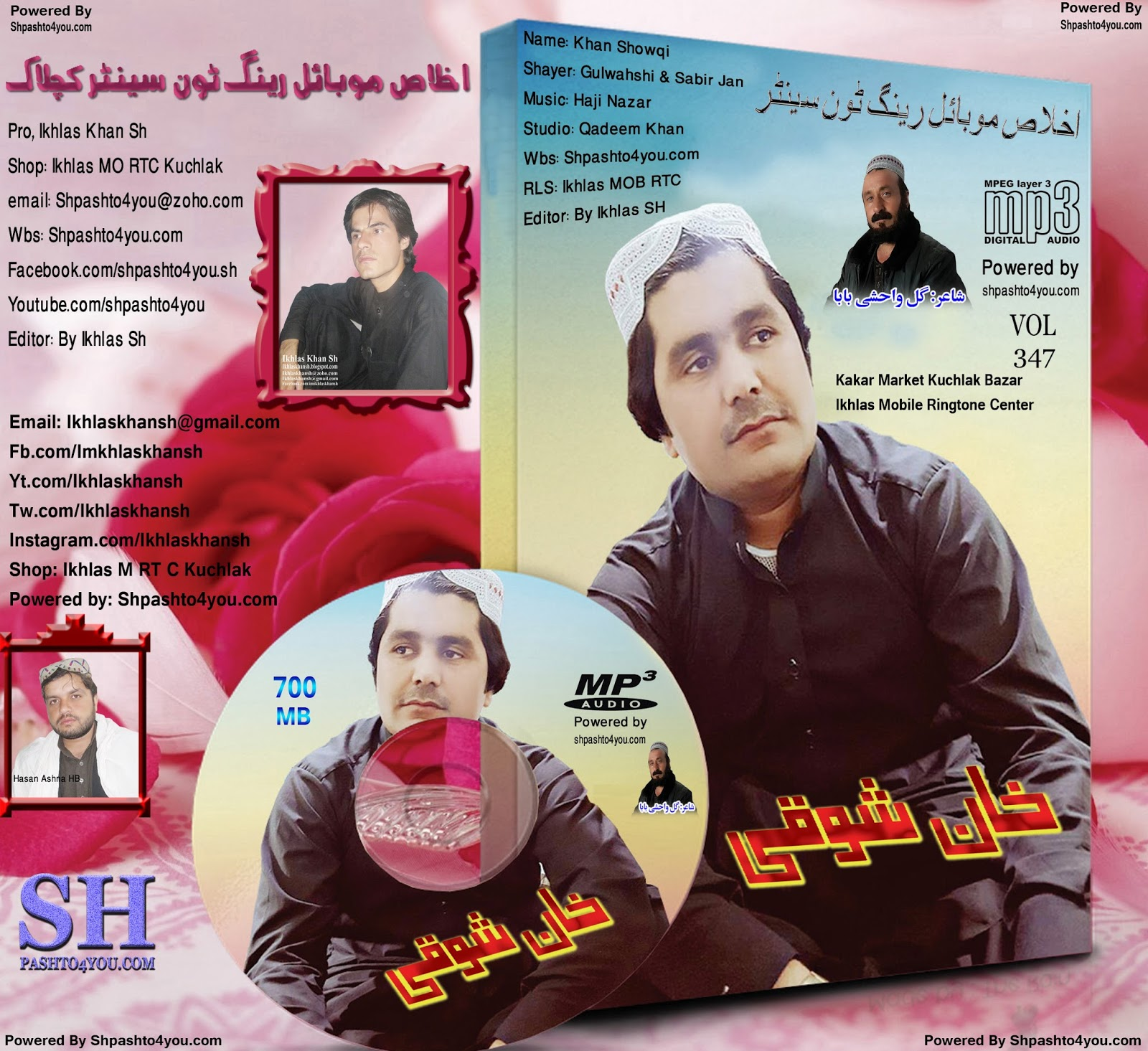 Khan Showqi Pashto Mp3 New Songs 2018 Apr