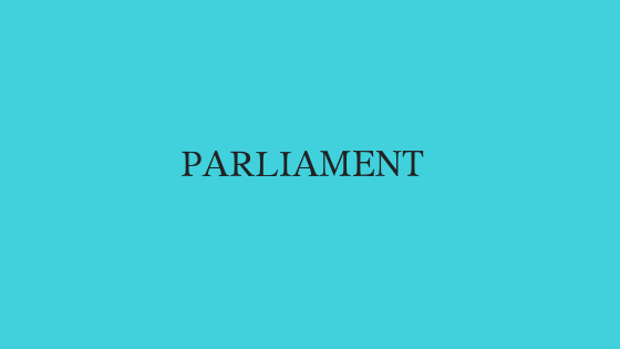 Short Questions related to Parliament