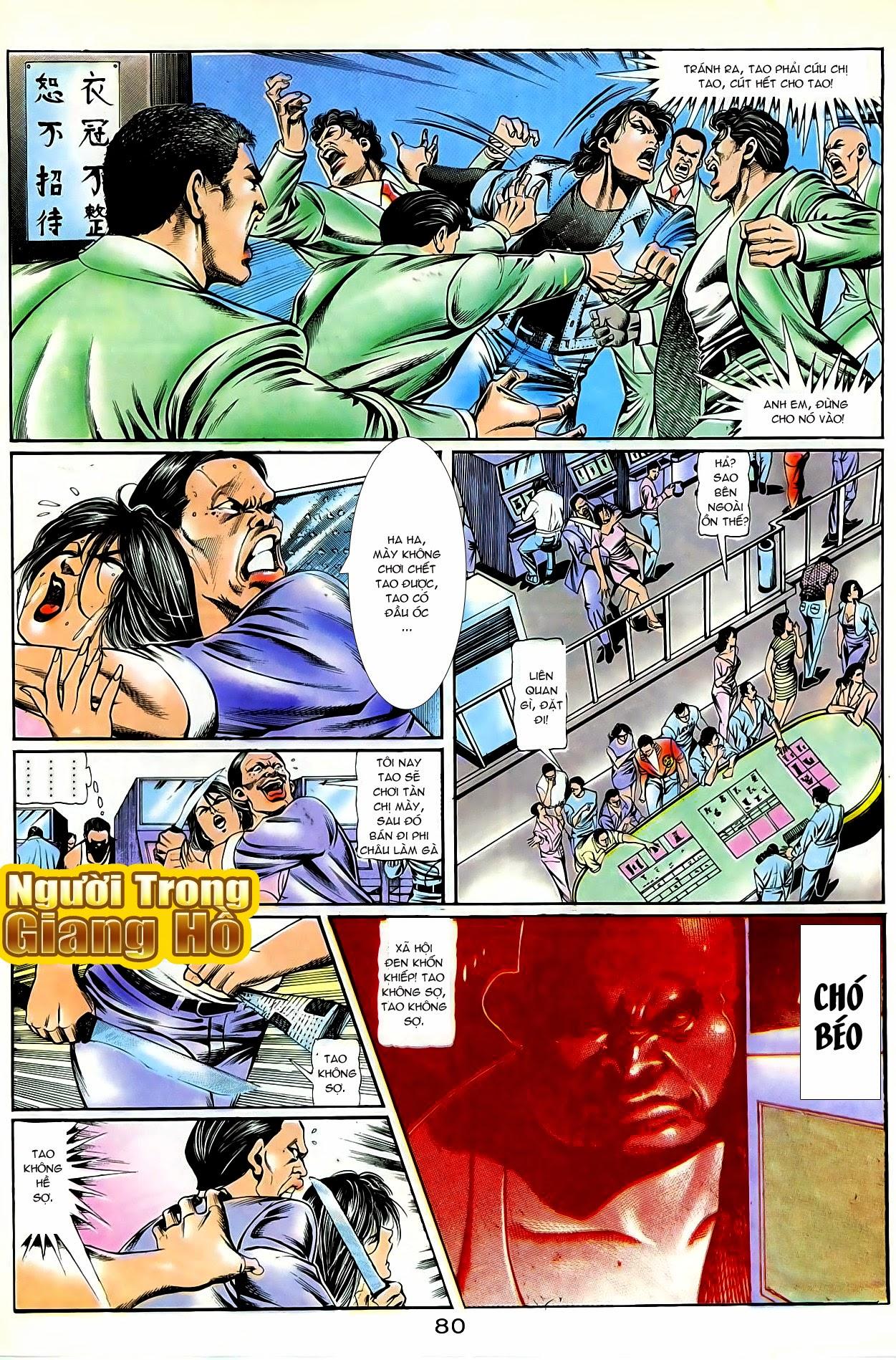 Người Trong Giang Hồ chapter 86: săn báo trang 23