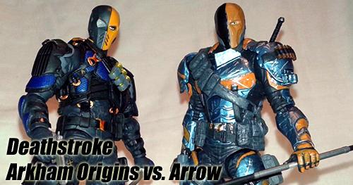 Batman Arkham Origins Deathstroke vs. Arrow Deathstroke bemutató