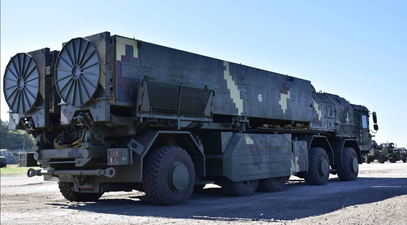 Пускова установка українського оперативно-тактичного комплексу
