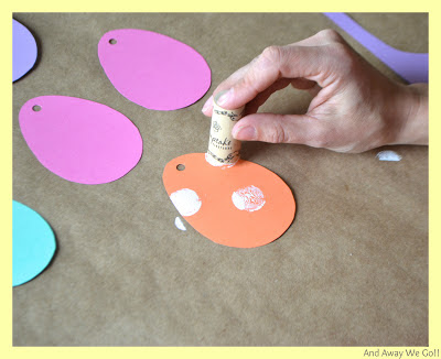 Easter Garland Craft With Kids