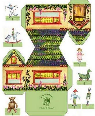 Pedagogiccos Moldes De Casas Para Maquete