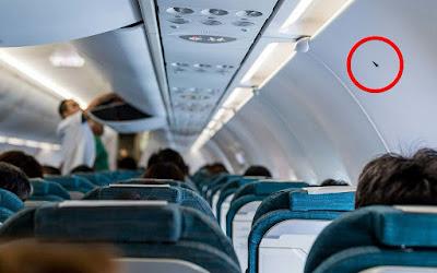 Què vol dir el petit triangle que es troba en alguns seients dels avions