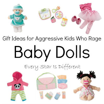 Baby doll and accessory gift ideas.