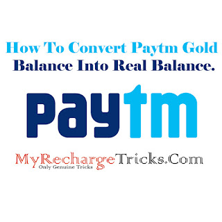 How To Convert Paytm Gold Balance Into Real Balance