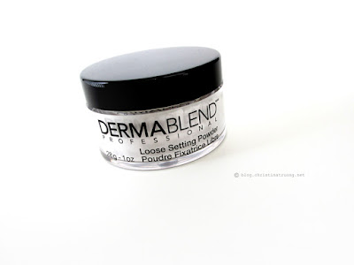 Dermablend Professional Loose Setting Powder Review