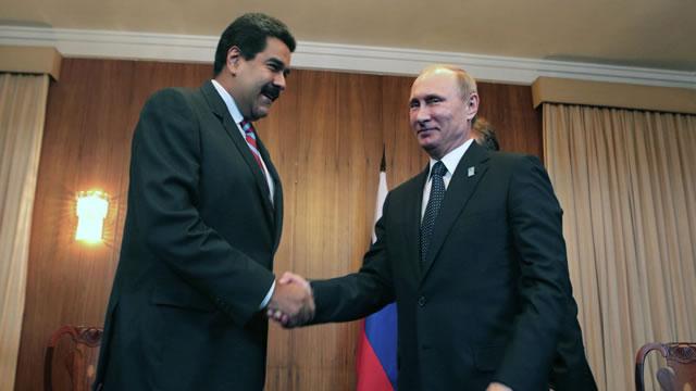Caiga quien Caiga: Maduro ya sabe quien es el hijo de Putin