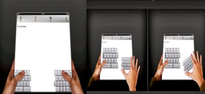 split keyboard ipad
