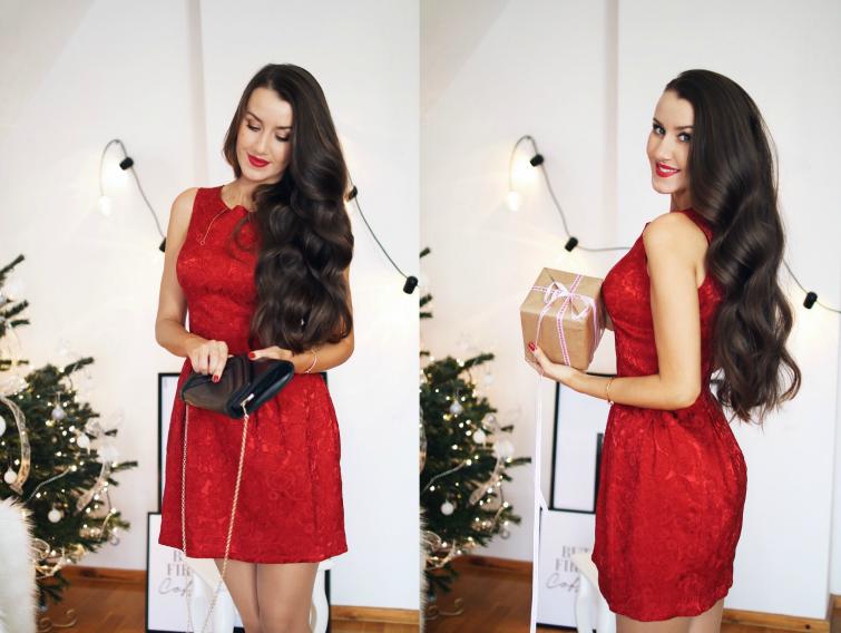 czerwona_sukienka_na_swieta_bombka_rozkloszowana_mohito_kosmetyczna_hedonistka