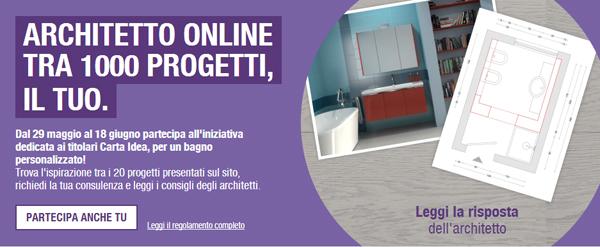 Il tuo bagno con leroy merlin architetto online mille for Consulenza architetto online