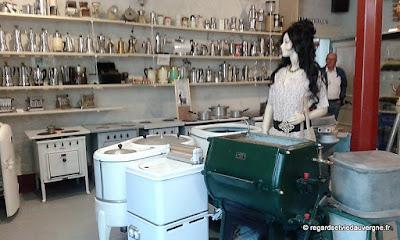 Musée : Electrodrome de Magnet, Allier. la cuisine