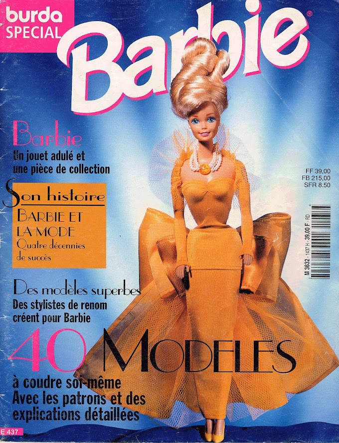 Barbie 40 Modelos -Burda Special