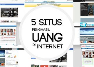 Situs Penghasil Uang di Internet