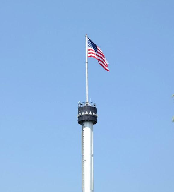 Kissing Tower at Hersheypark In Hershey Pennsylvania