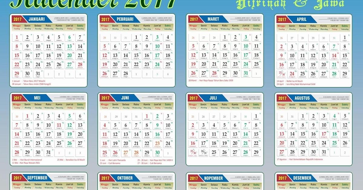 68+ Gambar Kalender Kb 3 Bulan