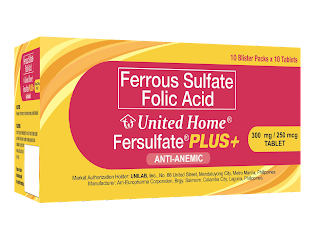 United Home Fersulfate PLUS+
