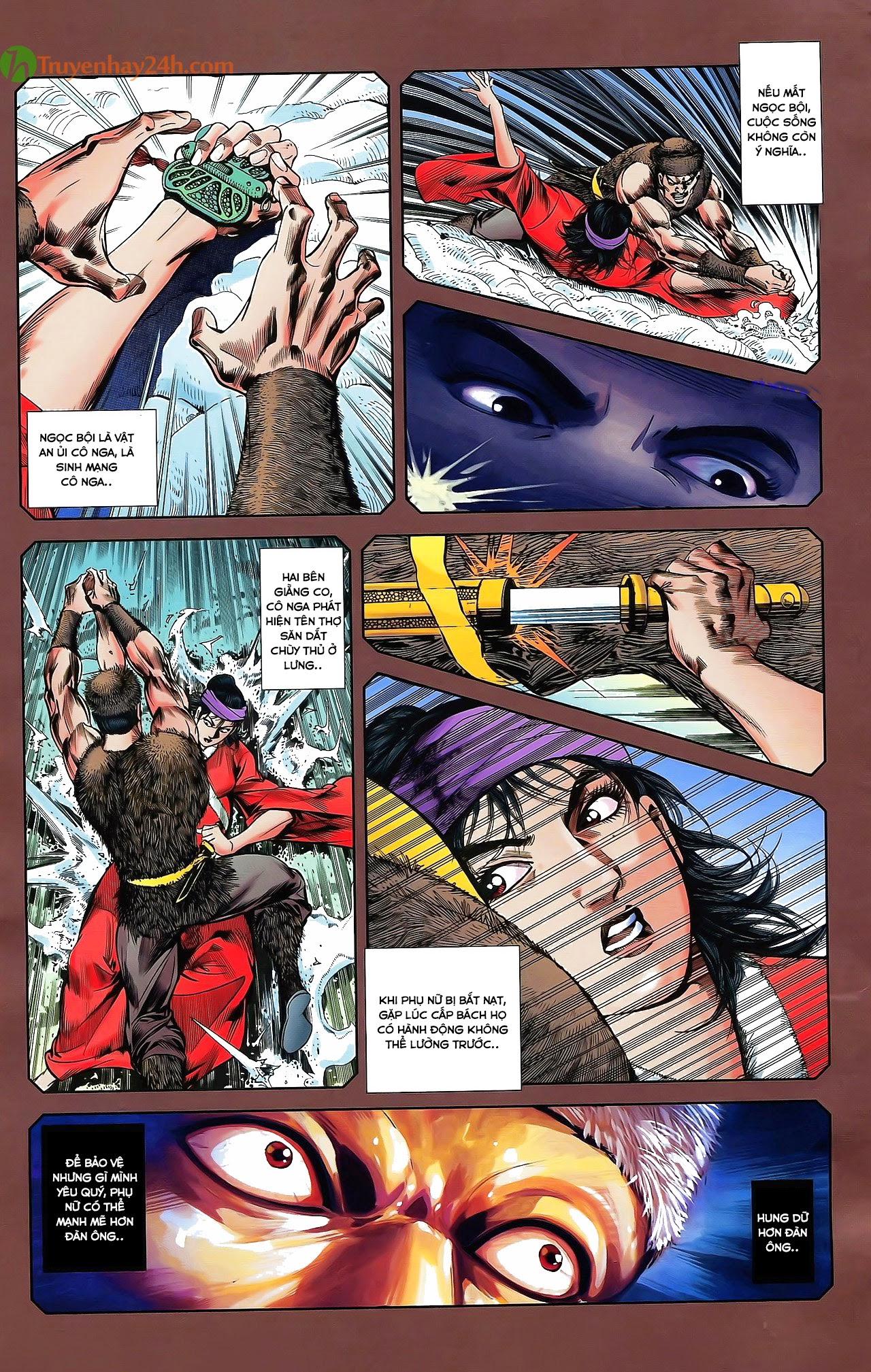 Tần Vương Doanh Chính chapter 29.2 trang 10