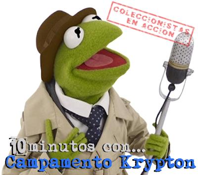 Entrevista Campamento Krypton, 10 minutos con...