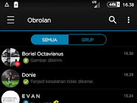 Download BBM MOD Black iOS APK v3.3.4.48 for Android Gratis