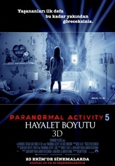 Paranormal Activity 5 (2015) 720p Film indir