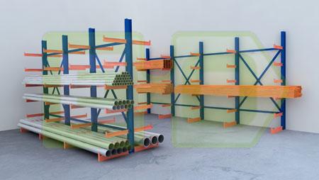 Estanterias de ocasion sistemas de almacenaje tipos de - Estanterias para garaje ...