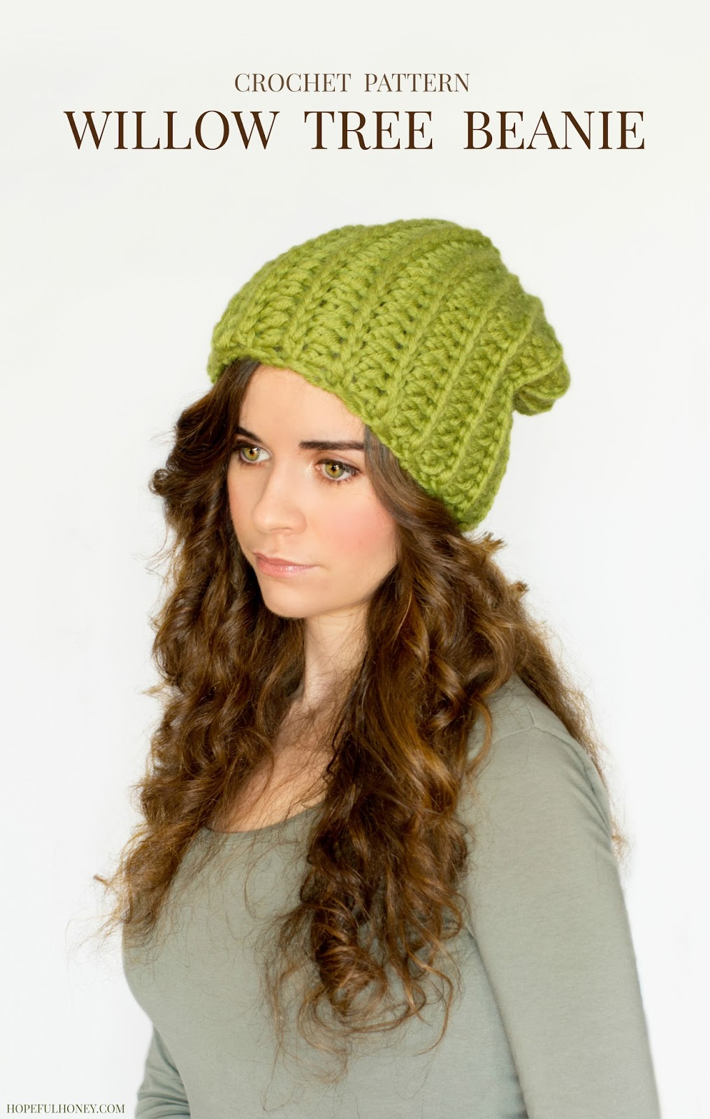 56919ee21db Chunky Willow Tree Slouchy Beanie