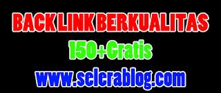 total 150+ backlink berkualitas