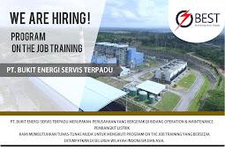 Loker PT Bukit Energi Servis (PT Bukit Asam Group) Tahun 2019