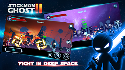 Game Stickman Ghost 2 Star Wars MOD APK
