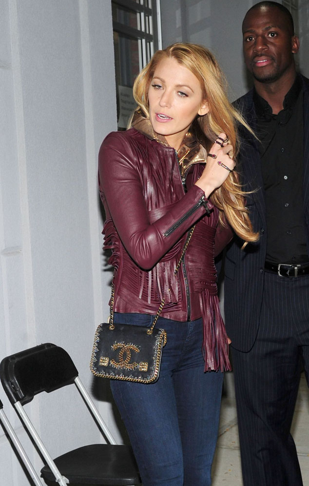Blake Lively was spotted in New York, Wednesday, October 14.