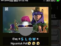 BBM Tema Clash Of Clans Mod V2.13.0.26 apk Terbaru