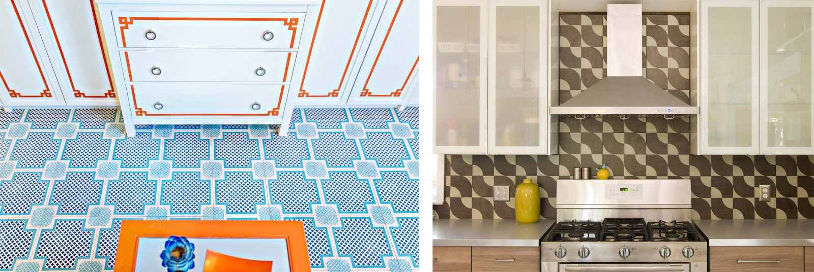 Mirth Studio - Colorful Patterned Hardwood Floor Tiles