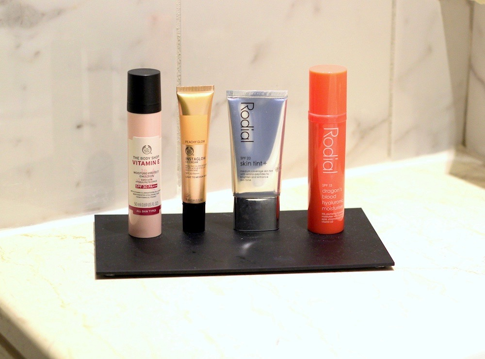 makeup favourites SPF summer holiday
