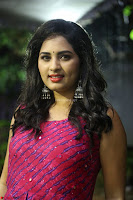 Srushti in beautiful Pink Sleeveless Dress Cute Actress Dimples ~  Exclusive 007.JPG