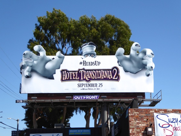 Hotel Transylvania 2 Frankenstein Special Billboard