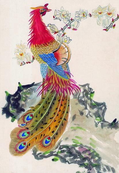 Niezmywalna Tozsamosc Feniks 鳳凰 Ptak Feng Huang