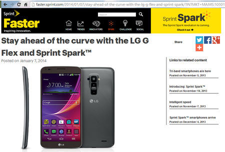 Sprint Spark Gets Rolling with Up to 60 Mbps in Multiband Devices