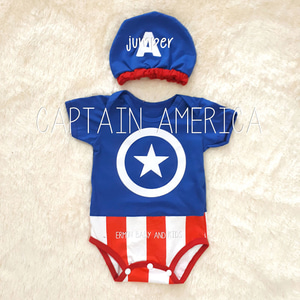 Jumper Bayi Captain America