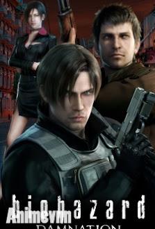 Resident Evil: Damnation - Hoạt Hình Resident Evil 2012 Poster