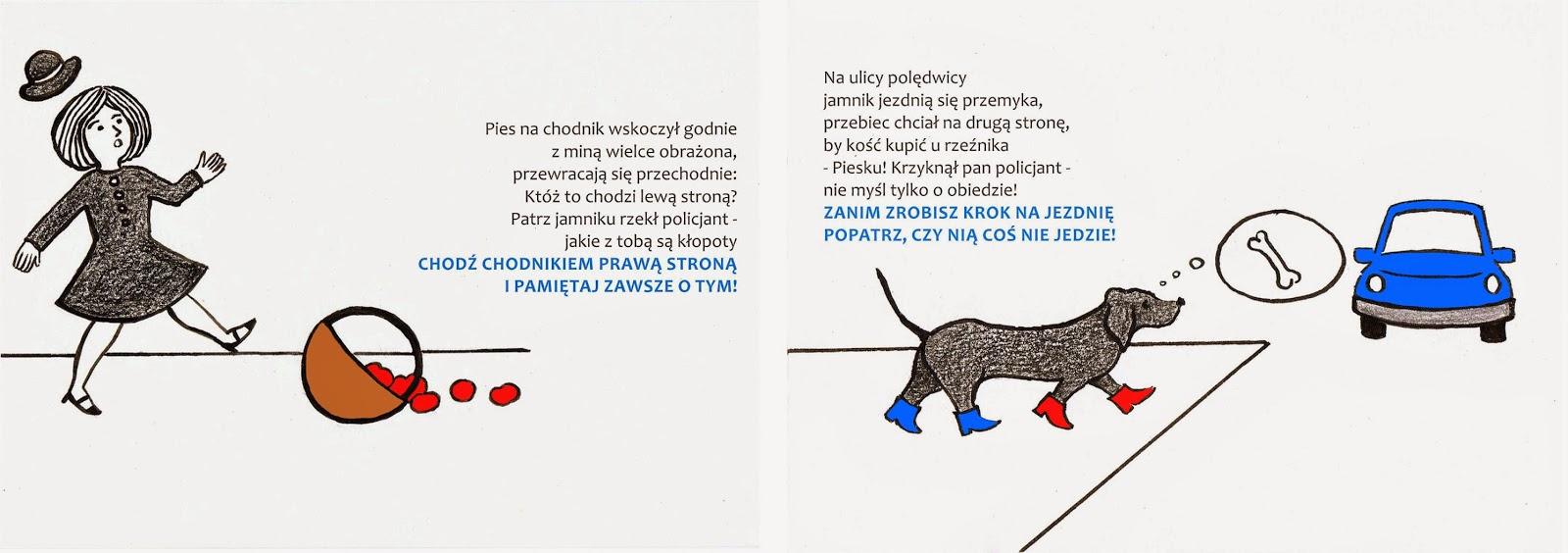 Katarzyna Romanowska Ilustracje Do Wiersza