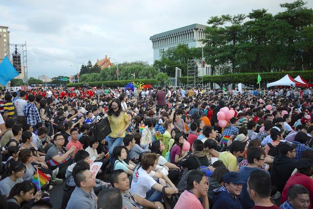 2011 Taiwan LGBT Pride Parade rally