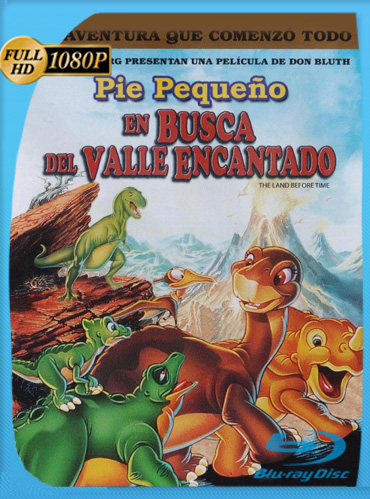 Pie Pequeño en Busca del Valle Encantado 1 al 7 HD [1080p] Latino Dual [GoogleDrive] TeslavoHD