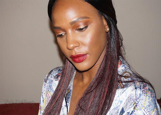 BlackUp Cosmetics Brown Nude Eyeshadow Palette | bellanoirbeauty.com