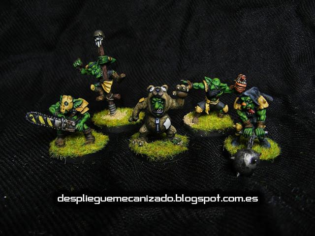 Imagen de goblins tramposos del equipo de BB