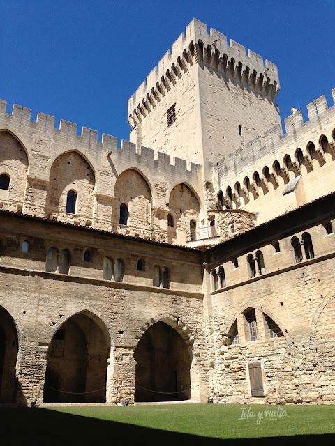 Palacio Papas Avignon palacio viejo