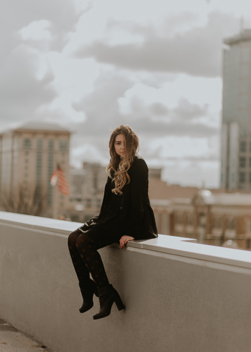 salt lake city, skyline photo, fashion blogger