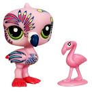 Littlest Pet Shop Postcard Pets Flamingo (#1438) Pet
